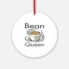 Bean Queen Ornament (Round)