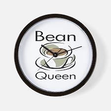 Bean Queen Wall Clock