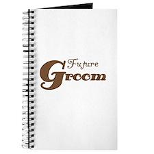 Future Groom Brown Journal