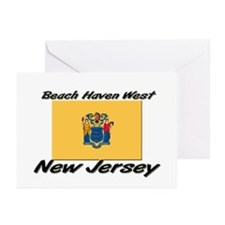 Beach Haven West New Jersey Greeting Cards (Pk of
