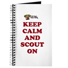 Cool Cub scout Journal