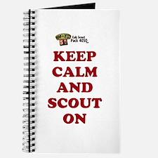 Cute Cub scouts Journal