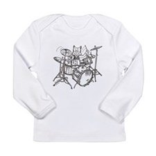 Cute Catoons Long Sleeve Infant T-Shirt