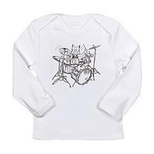 Unique Roaches Long Sleeve Infant T-Shirt