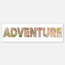 Adventure Bumper Bumper Bumper Sticker