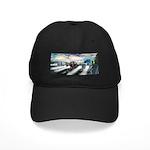 Truck Driver Guardian Angel Black Cap