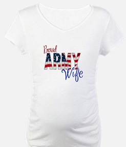Proud Patriotic Army Wife Shirt