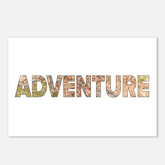 Adventure Postcards (Package of 8)