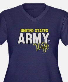 US Army Wife Plus Size T-Shirt