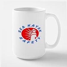 Sea Kayak Safety Large Mug