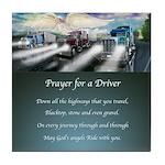 Prayer for a Driver Tile Coaster