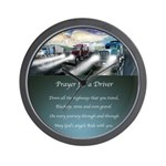 Prayer for a Driver Wall Clock