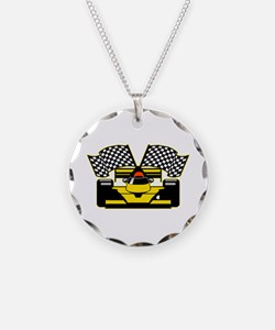 YELLOW RACECAR Necklace