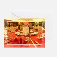 Wedding Dinner Greeting Card