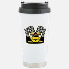 YELLOW RACECAR Travel Mug