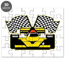 YELLOW RACECAR Puzzle