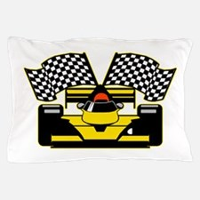 YELLOW RACECAR Pillow Case