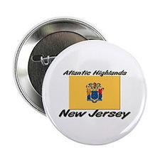 Atlantic Highlands New Jersey Button