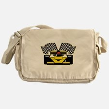 YELLOW RACECAR Messenger Bag