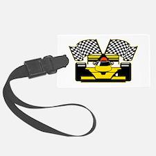 YELLOW RACECAR Luggage Tag