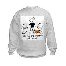 Family baby twins Sweatshirt