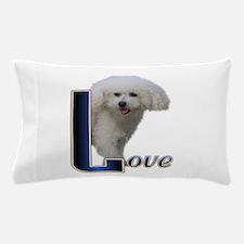 Love Bichon.png Pillow Case