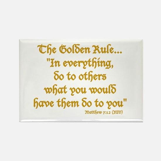THE GOLDEN RULE - MATTHEW 7:12 Magnets