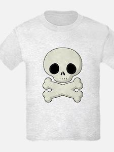 Baby Skull & Bones T Shirt (Kids)