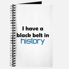 history black belt Journal