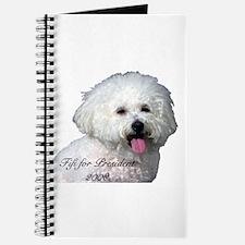 Cute Bichon dad Journal