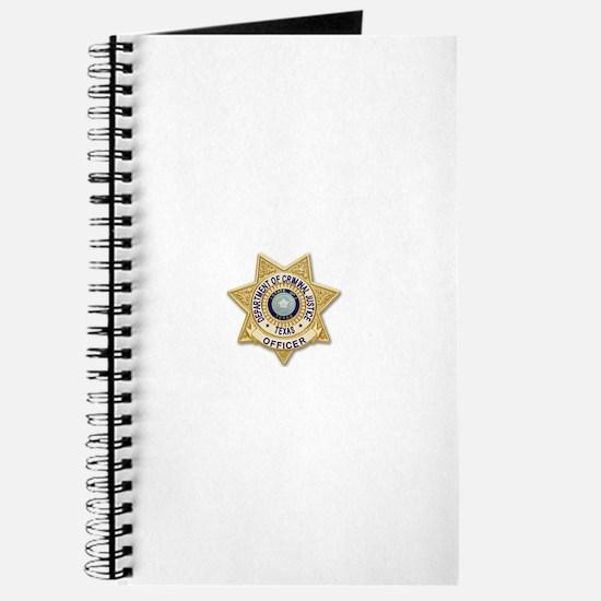 TDCJ Badge Journal