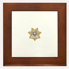 TDCJ Badge Framed Tile