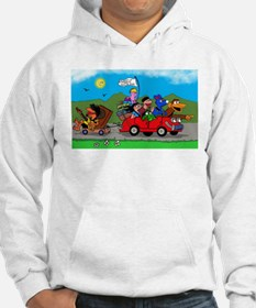 Wolfy and pals Jumper Hoody