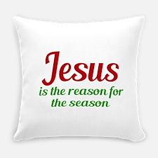 Jesus Season Everyday Pillow