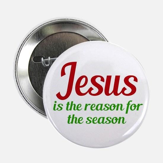 """Jesus Season 2.25"""" Button"""