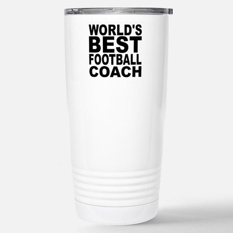 Worlds Best Football Coach Travel Mug