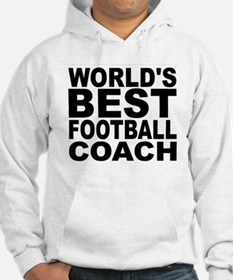 Worlds Best Football Coach Hoodie
