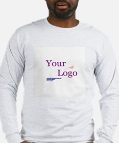 Promote Your Own Business! Long Sleeve T-Shirt