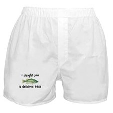 I Caught You a Delicious Bass Boxer Shorts