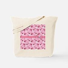 Dainty Little Ladybugs Tote Bag