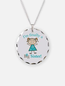 Big Sister Finally Necklace