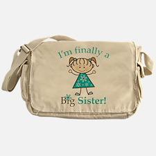 Big Sister Finally Messenger Bag