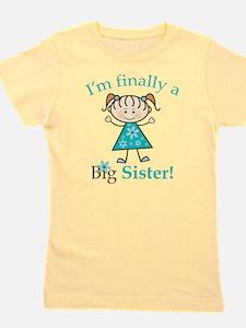 Big Sister Finally Girl's Tee