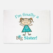 Big Sister Finally 5'x7'Area Rug