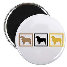 """Australian Shepherd Dog 2.25"""" Magnet (100 pack)"""