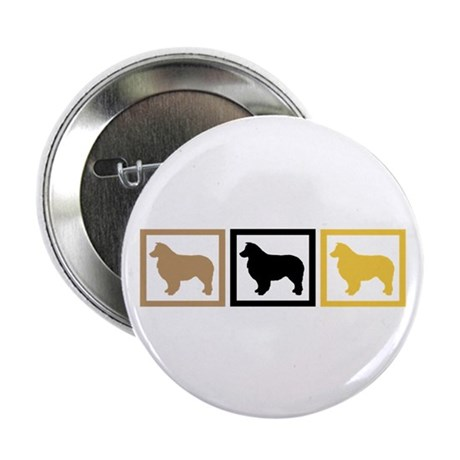 "Australian Shepherd Dog 2.25"" Button"