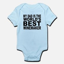 My Dad Is The Worlds Best Winemaker Body Suit