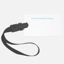 beat cerebral palsy Luggage Tag