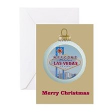 Las Vegas Ornament Christmas Cards 10