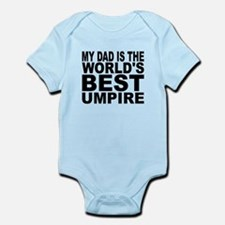 My Dad Is The Worlds Best Umpire Body Suit